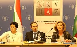 KKVBARÁT szervezetek egyeztetése a Pénzügyminisztrériumban